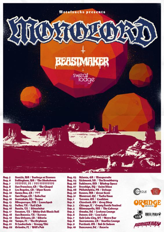 Monolord premiere track from forthcoming EP at Metal Injection, headlining North American tour starts in August