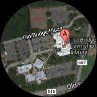 Old Bridge Library Map