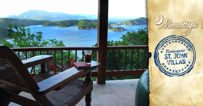 Mooncottage - Mooncottages St John Luxury Villa Rentals
