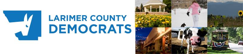 Larimer County Democrats Web Banner