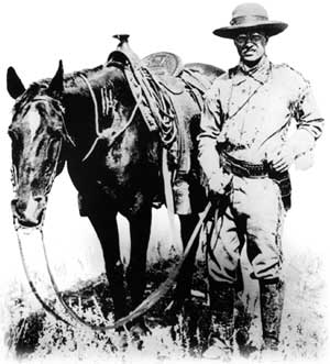 TR and horse
