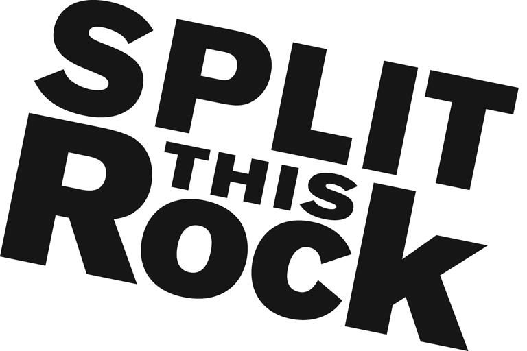 Image of logo of the words Split This Rock