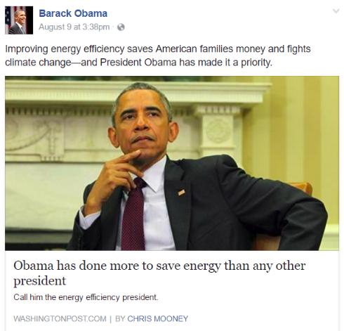 Pres Obama post