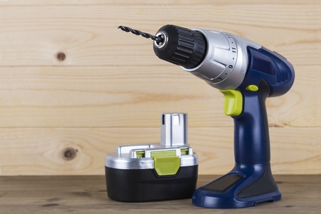 cordless drill with battery charger