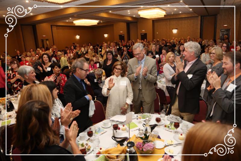 ballroom standing O for Pamela Bass-Bookey