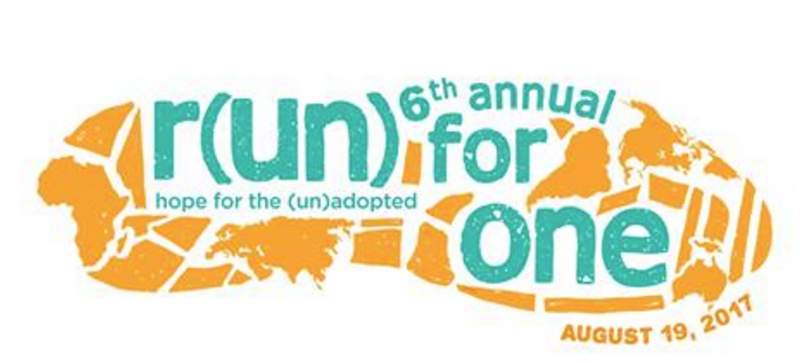 Run for One 5K 2017 Banner