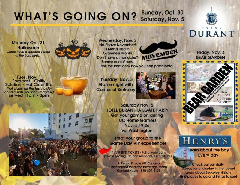 10-31-16 - Hotel Durant