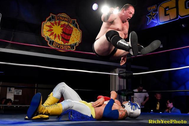 Gold Rush Wrestling - 8-8-16 - Rich Yee