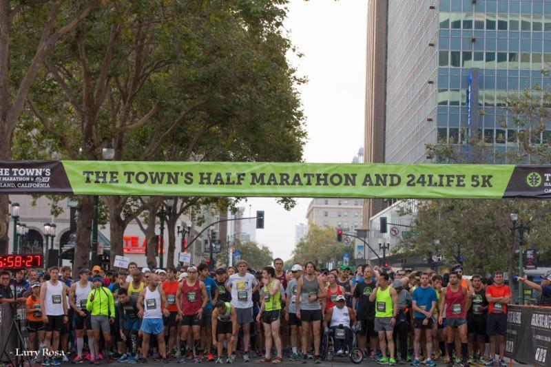 Town's Half Marathon - 8-13-16 - Larry Rosa