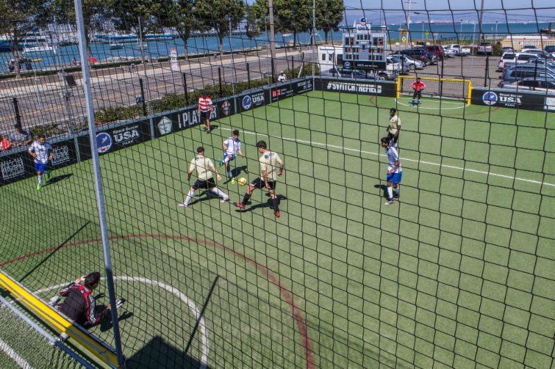 8-7-17 - Street Soccer - Larry Rosa