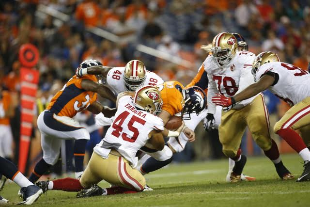 49ers - 8-22-16 - Michael Zagaris