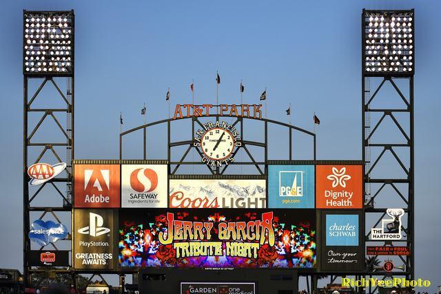 San Francisco Giants - 8-22-16 - Rich Yee