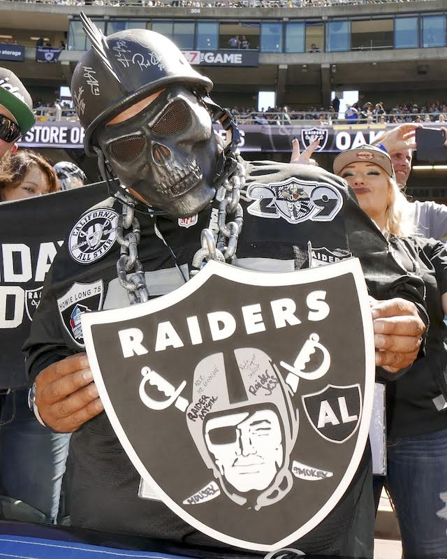 Raiders super fan -- 9-19-16 - Ed Jay
