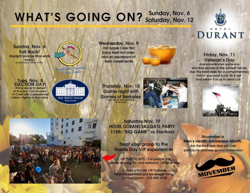 11-7-16 - Hotel Durant