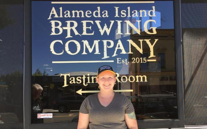 Alameda Island Brewing - 8-15-16 - Ann Cooke