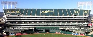 Oakland A's tarps
