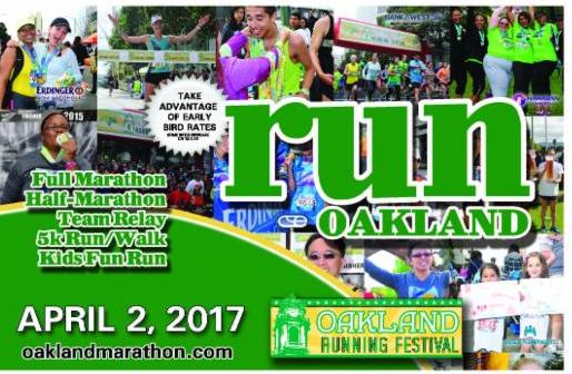 2-13-17 - Oakland Marathon