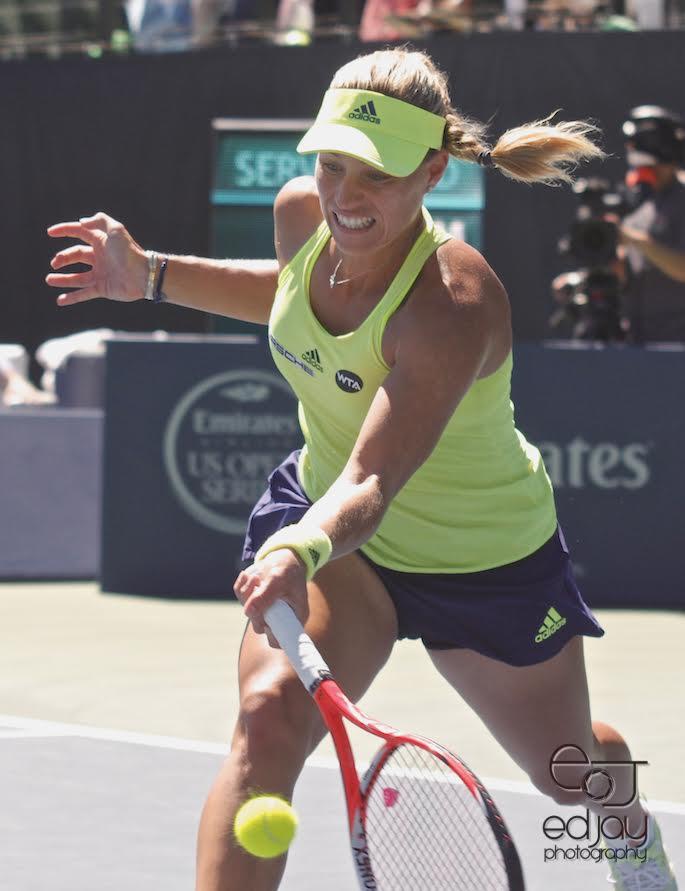 Angelique Kerber - US Open - 9-1-216 - Ed Jay