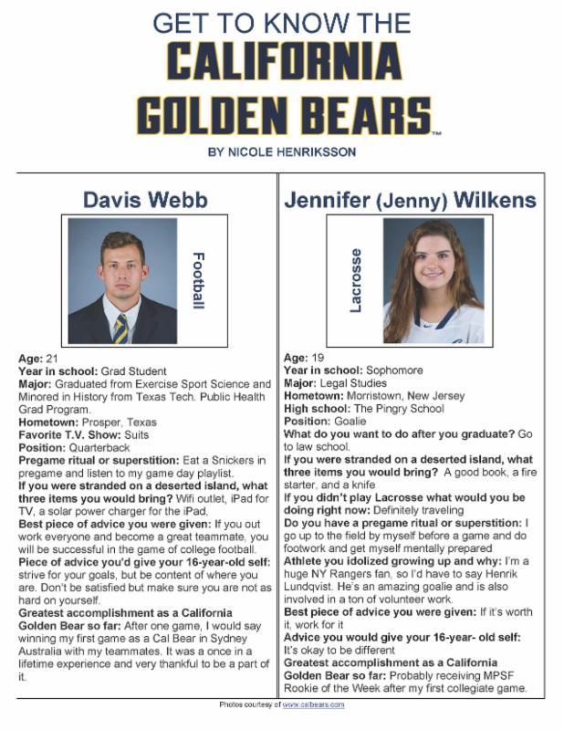 Cal Bears - 9-12-16
