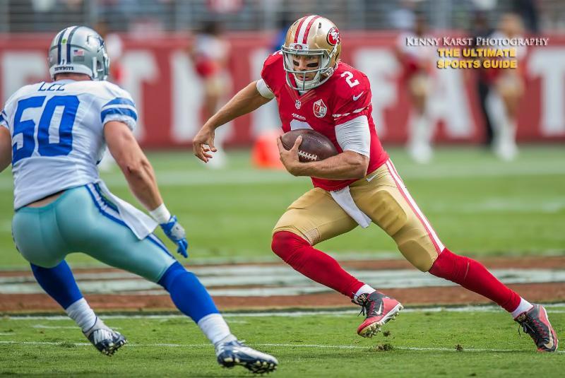 49ers - 10-3-16 - Kenny Karst