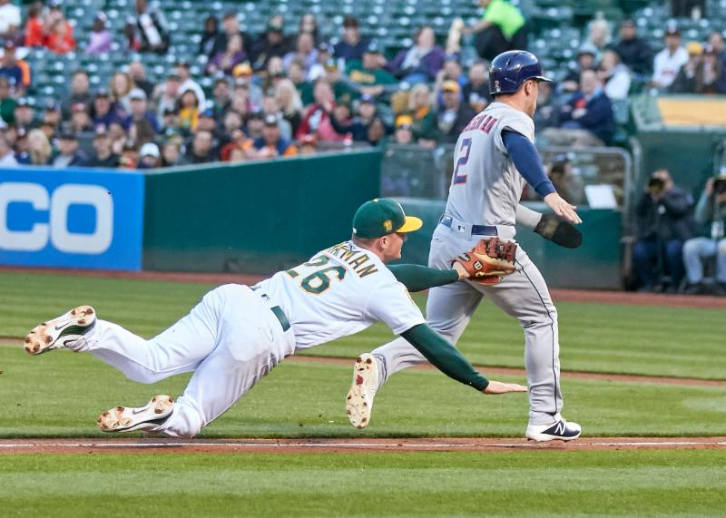 5-14-18 - A's - Ron Sellers