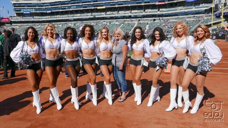 Oakland Raiderettes - 8-28-16 - Ed Jay