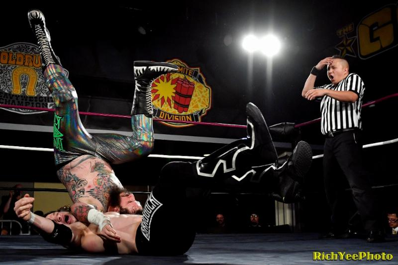 11-14-16 - Gold Rush Wrestling - Rich Yee