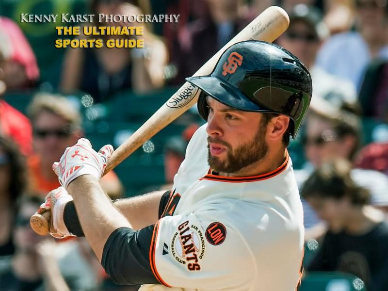 SF Giants - 8-28-16 - Kenny Karst