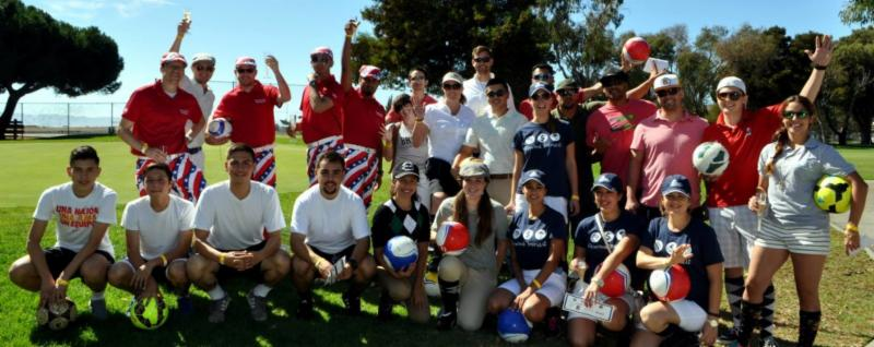 San Leandro Chamber - Footgolf - 8-15-16