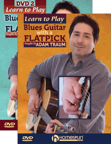 Adam Traum - Blue Guitar Flatpick