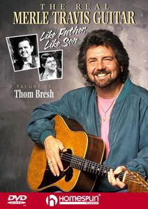 Thom Bresh - the Real  Merle Travis Guitar