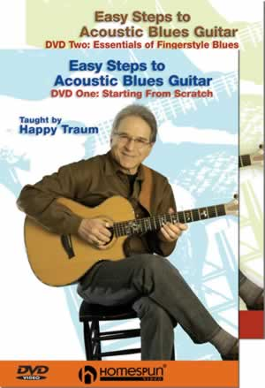 Happy Traum - Easy Steps to Acoustic Blues Guitar