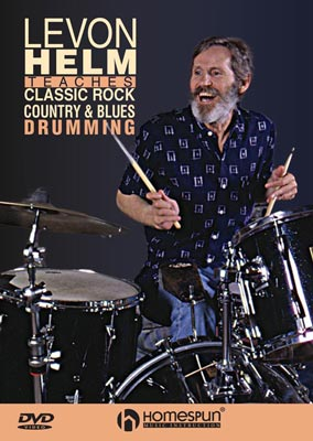 Levon Helm Teaches Classic Rock, Country and Blues Drumming