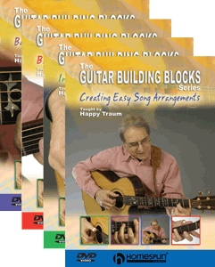 Happy Traum Building Blocks-Four DVD set