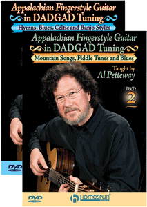 Al Petteway Appalachian Fingerstyle Guitar in DADGAD Tuning