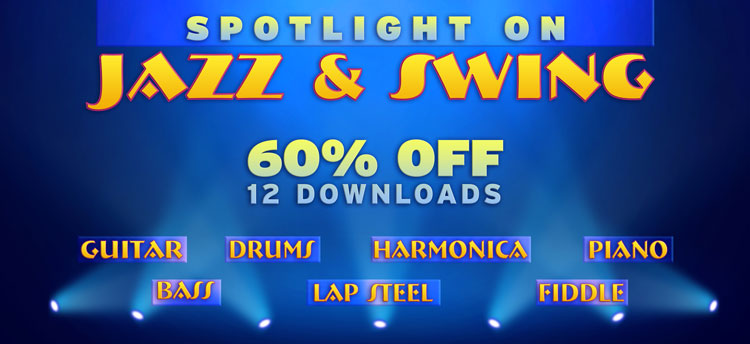 Spotlight on Jazz and Swing 60 percent of 12 downloads