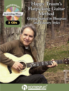 Happy Traum Flatpicking Method CD and book