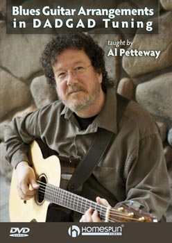 Blues Guitar Arrangements in DADGAD Tuning by Al Petteway