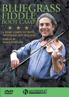 Stacey Phillips - Bluegrass Fiddle Boot Camp