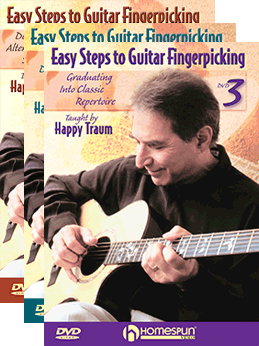 Happy Traum - Easy Steps to Guitar Fingerpicking