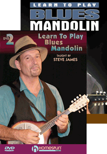 Steve James - Learn Blues Mandolin