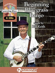 Bill Keith CD and books