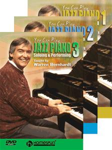 Warren Bernhardt - Jazz Piano 3dvdset