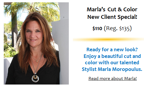 Marla's Cut and Color Special!