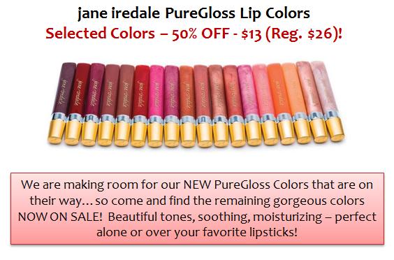 jane iredale PureGloss Lip Colors