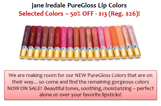 jane iredale PureGloss Lip Colors
