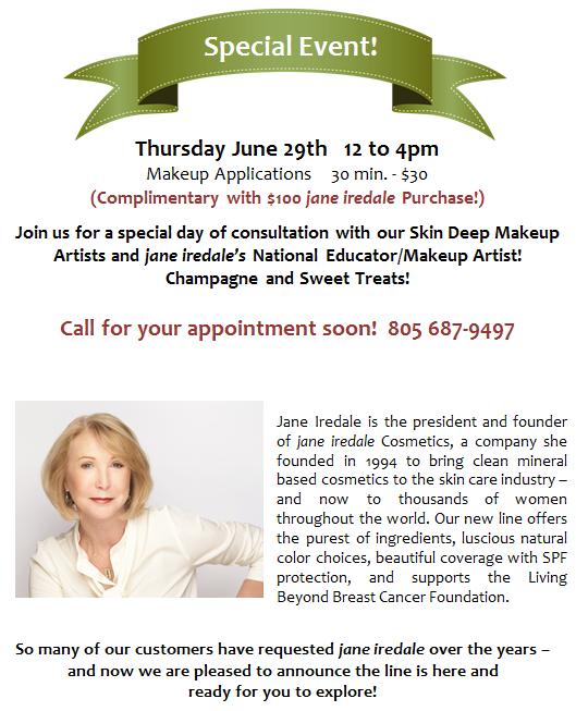 Jane Iredale Event