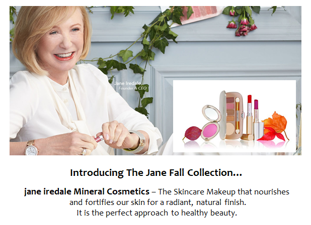 jane iredale mineral cosmetics!