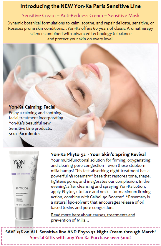YonKa Calming Facial!