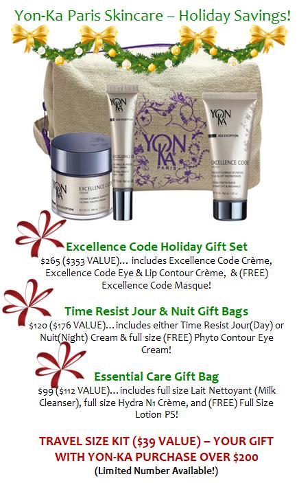Yon-Ka Paris Skincare - Holiday Savings_